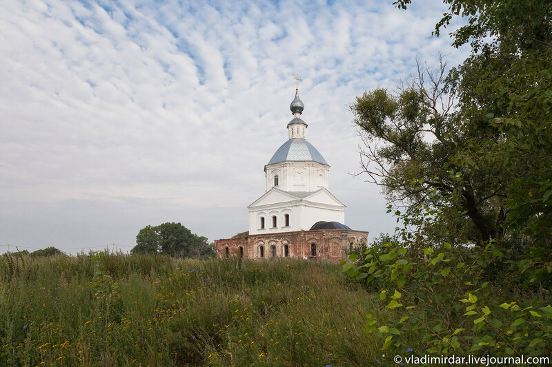 Храм святителя Василия Великого в Кистыше