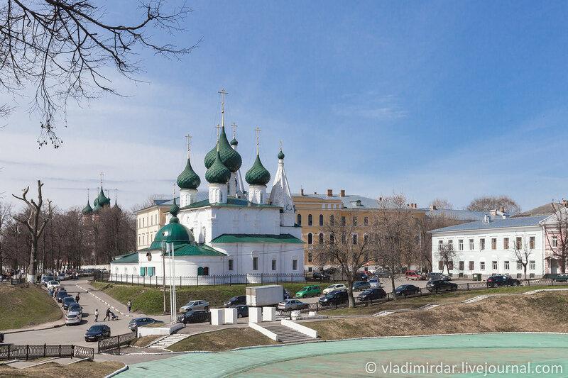 Церковь Спаса на Городу. Ярославль. Золотое Кольцо.