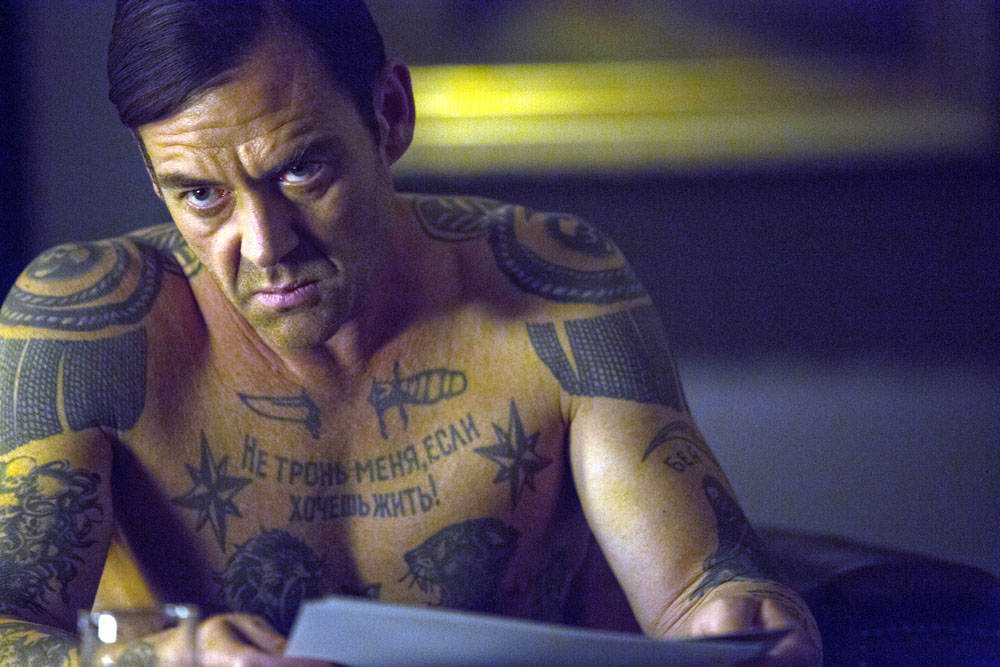 Teddy (MARTON CSOKAS) stars in Columbia Pictures' THE EQUALIZER.