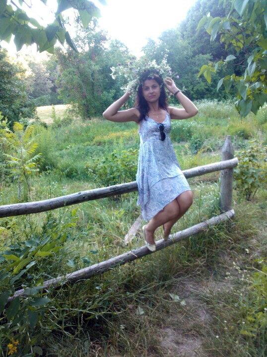 сельская красавица