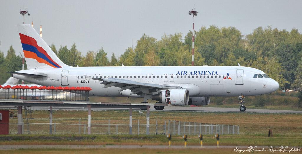 Airbus A320-214 Air Armenia EK32039