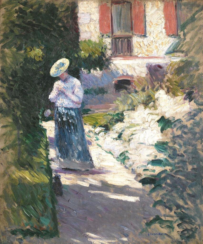 Gustave Caileibotte - Study for 'Les Dahlias, Jardin du Petit Gennevilliers'.jpeg
