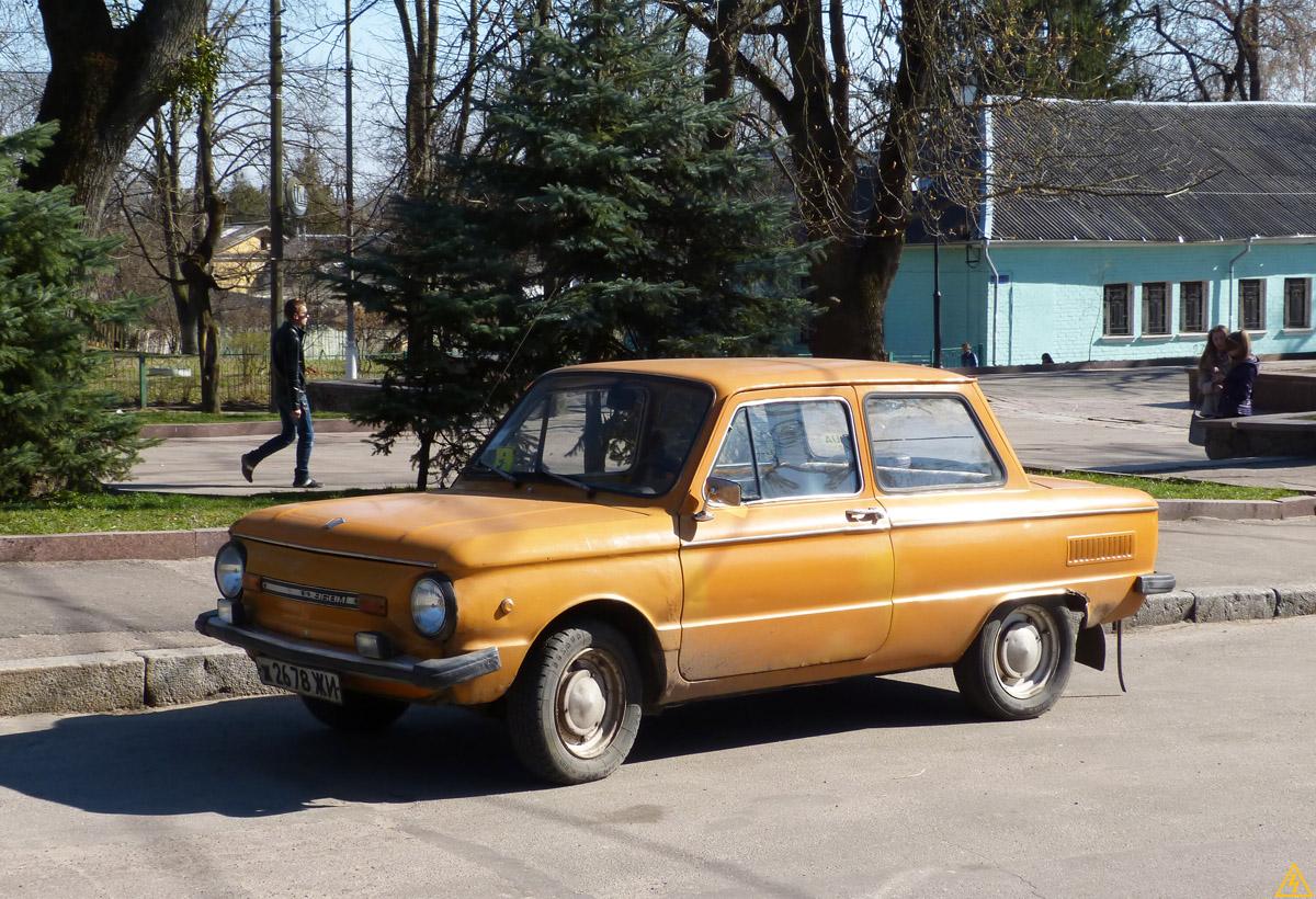 """ЗАЗ-968М """"Запорожец"""" в Житомире"""