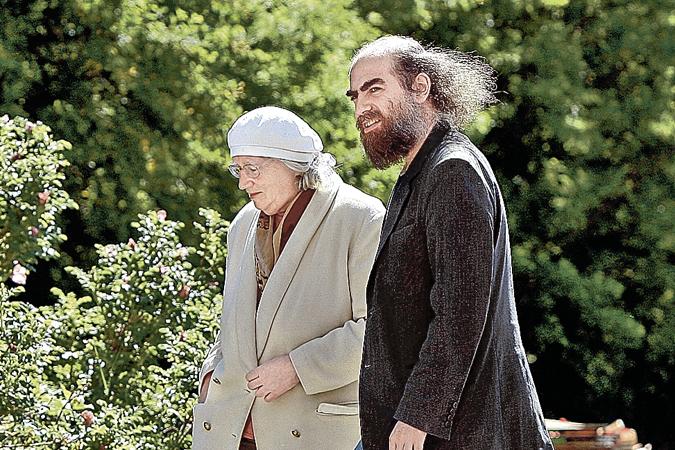 Григорий Перельман со своей мамой Любовью Лейбовной