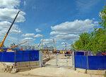 Строительство станции метро Терёшково