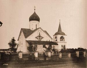 Вид северо-западного фасада церкви Петра и Павла на Городу. Новгород г.