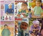 Журнал Вязание спицами и крючком. Модели детской одежды (Подборка журналов)