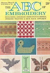 Книга The ABC of embroidery Book No.165