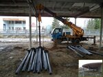 Усиление (ремонт) фундамента винтовыми сваями база Шинник, Белкино.jpg