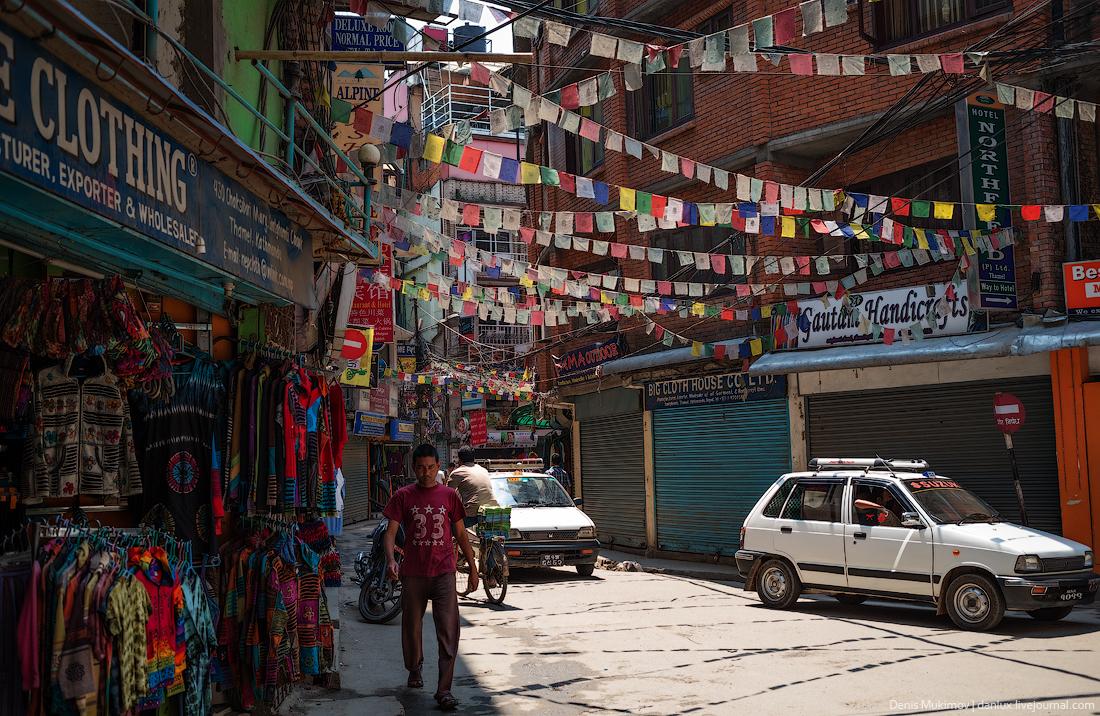 Катманду. Улицы и святыни