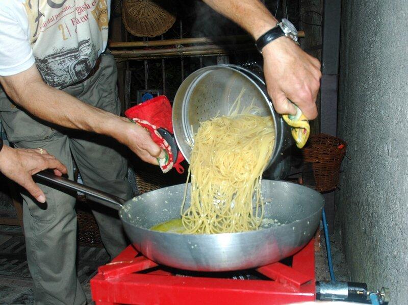 Спагетти, на которые способен любой... даже в шляпе