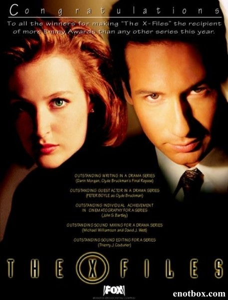 Секретные материалы / The X-Files - Сезоны 1-9 (1993-2002/DVDRip)