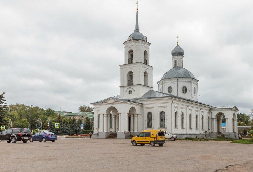 Собор Троицы Живоначальной, Остров
