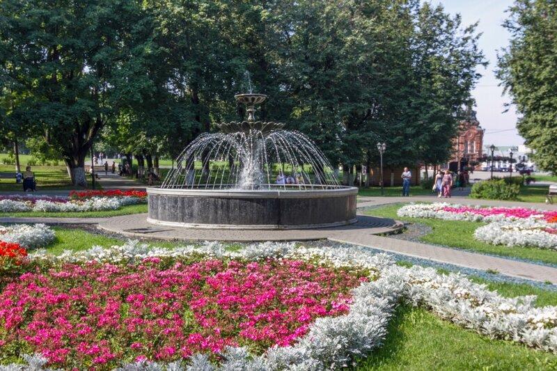 парк Липки, Владимир