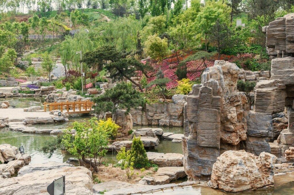 Прекрасная долина, Парк-выставка садов, Пекин
