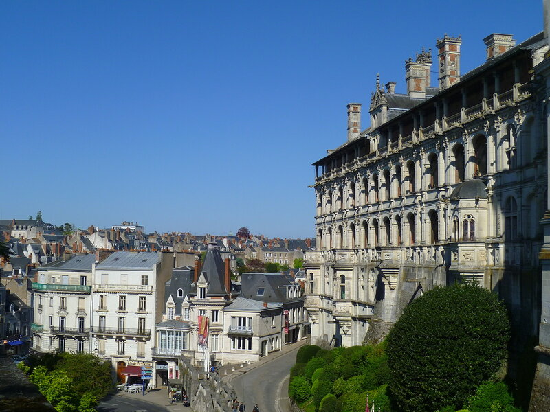 Франция, замок Блуа (France, castle of Blois)