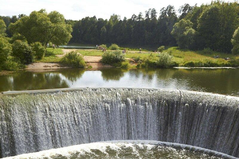 Ярополец - Плотина ГЭС на реке Лама