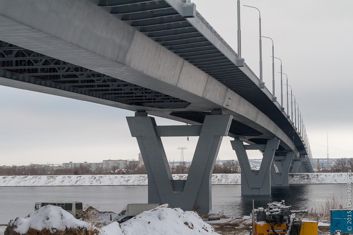 Мостовой переход через судоходный канал в Балаково 8