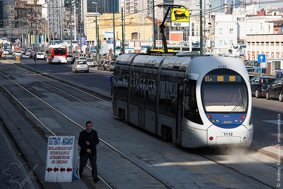 Трамвай в Неаполе