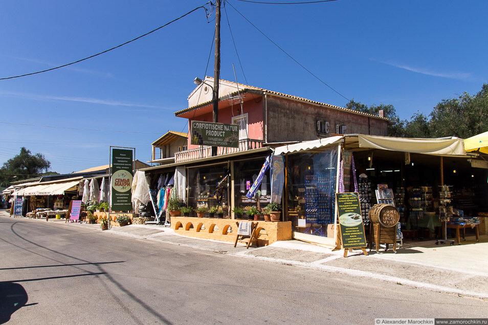 Деревня Макрадес (Makrades), Корфу, Греция
