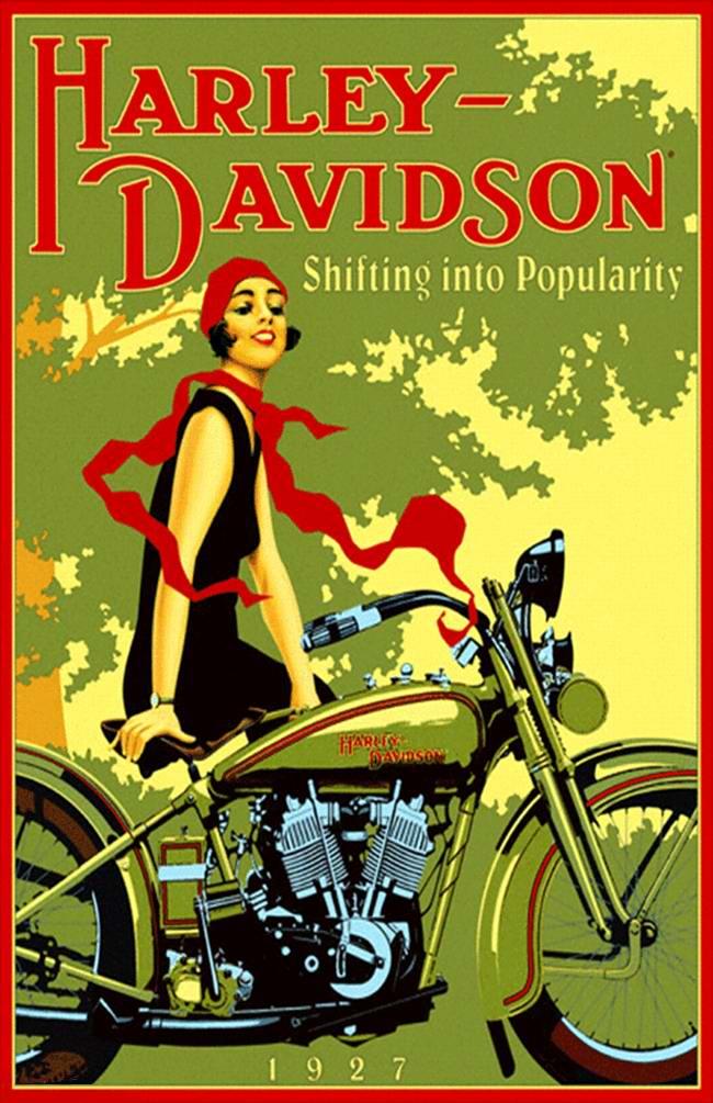 Harley-Davidson - США (1927 год) - 2