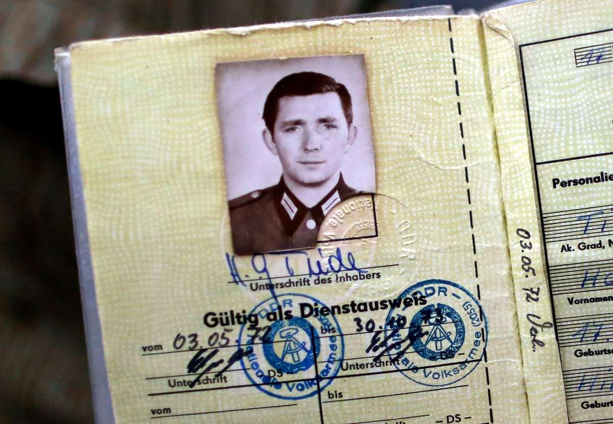 Документы военнослужащего на имя Ганса-Георга Тиде