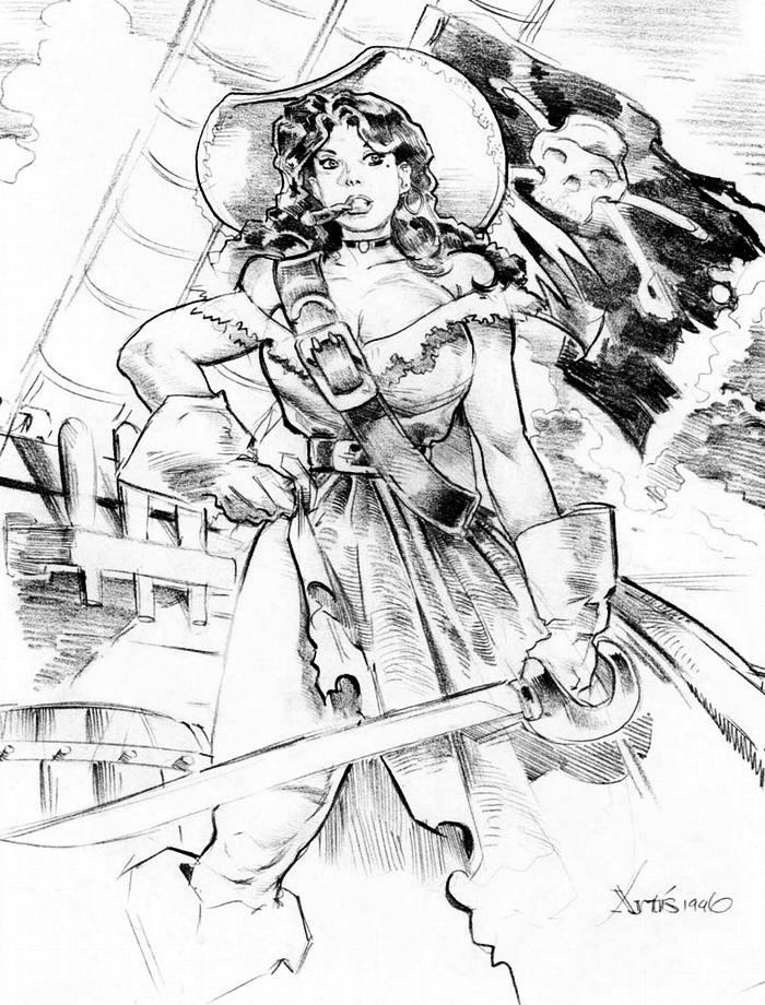Графика: истории из жизни девушек - пираток (22)