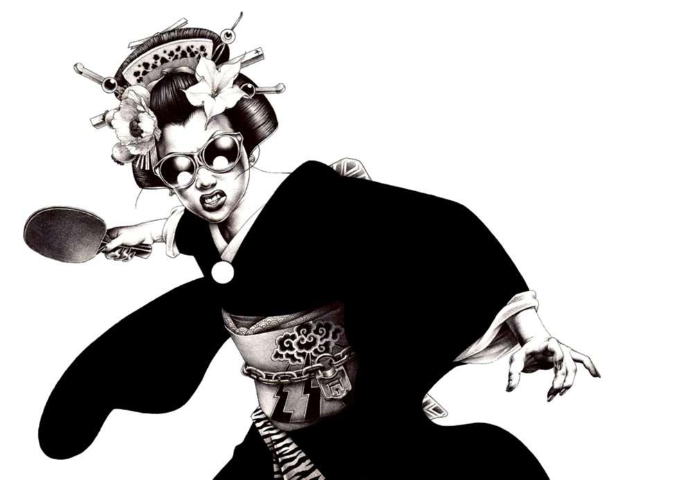 Сумасшедшие рисунки японского художника Shohei Otomo (51)