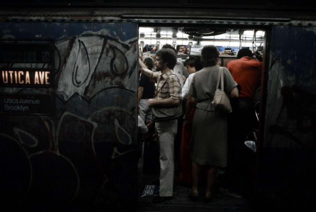 Американский фотограф Christopher Morris: Граффити и андеграунд нью-йоркского метро (9)