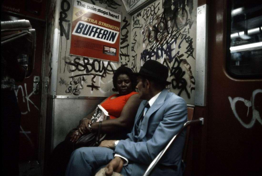 Американский фотограф Christopher Morris: Граффити и андеграунд нью-йоркского метро (20)