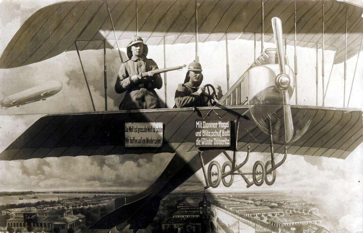 Художественные фоны для фотографий авиационной и воздухоплавательной тематики (3)