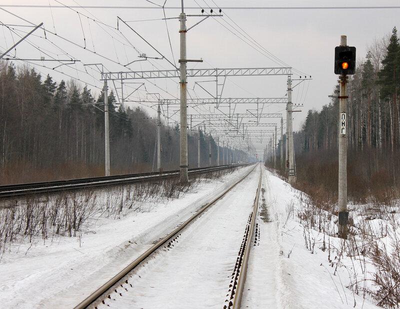 Предвходной ПАБ ПНГ к станции Войтоловка от Гор