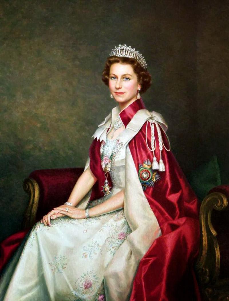Queen Elizabeth II. 1941 Studio Lisa (Lisa Sheridan)