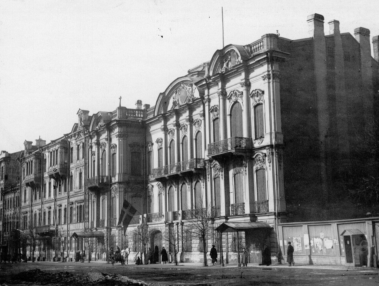 03. Фасад здания посольства. 1915