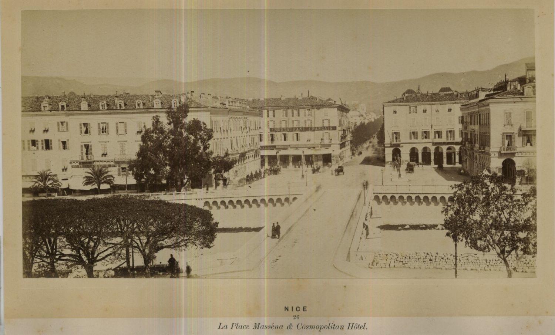 1875. Площадь Массена и отель «Cosmopolitan»