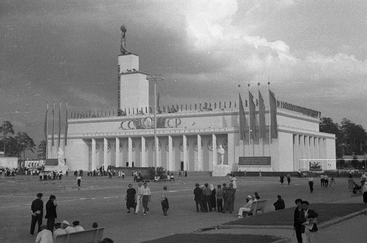 88. Центральный павильон «СССР»