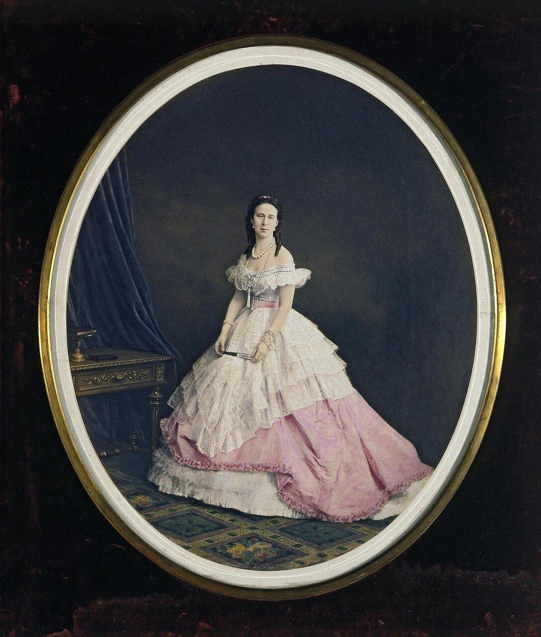 Портрет великой княгини Александры Иосифовны. 1867