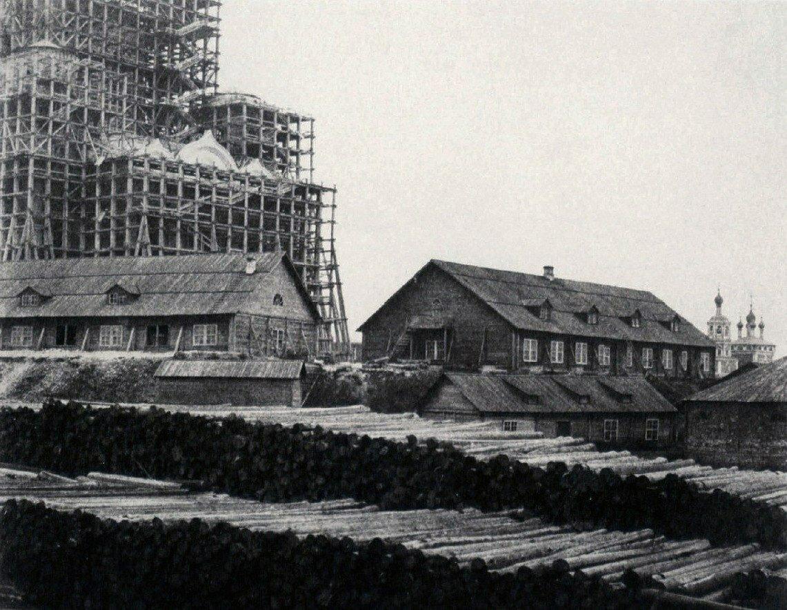 235. Строительство храма Христа Спасителя в Москве.1852
