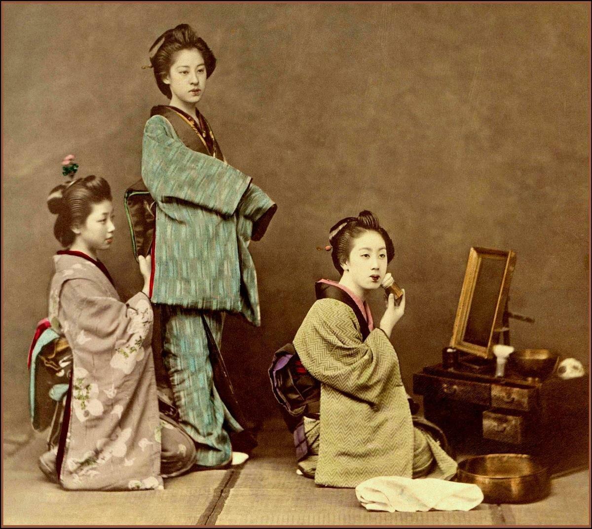 Японки и сосед 7 фотография
