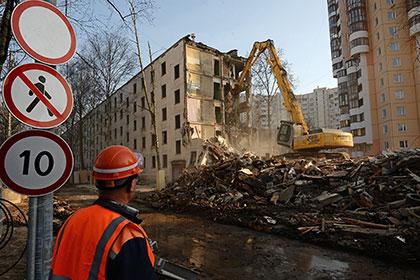 В столице нужно снести 238 ветхих пятиэтажных дома