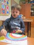 Радужный урок каждый маленький художник принёс домой настоящую радугу и теперь тёплое солнышко обязательно пробудится от долгого зимнего сна