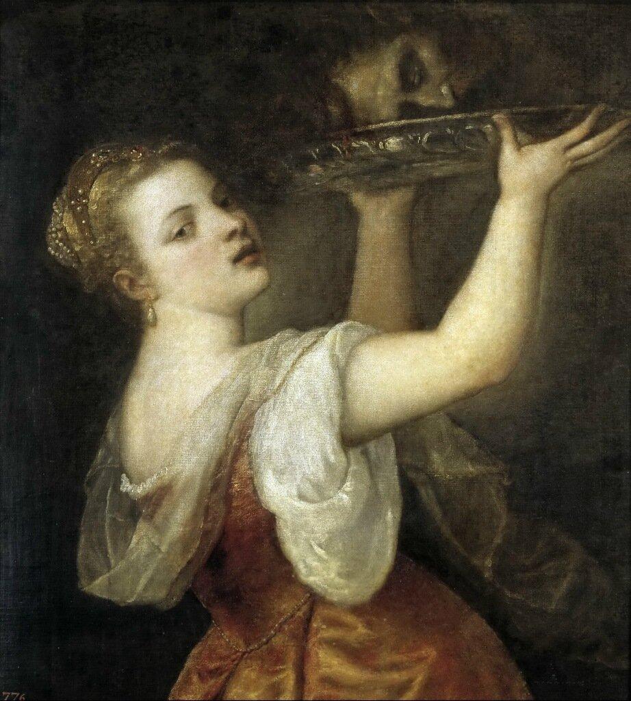 Тициан (Тициано Вечеллио): Titian Salome 1555 1560