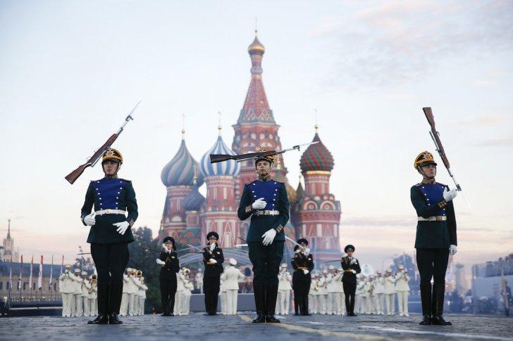 Фестиваль Спасская башня в Москве