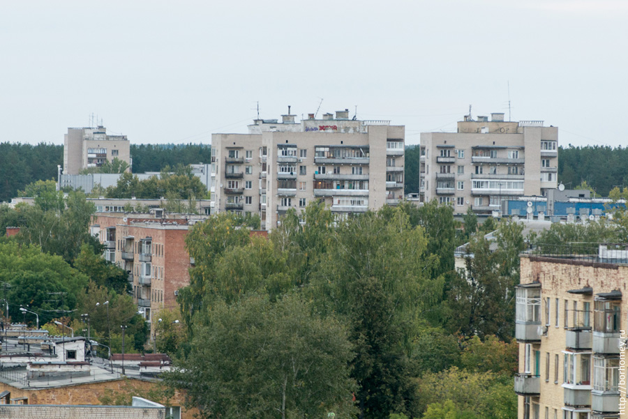 девятиэтажки на Силкина