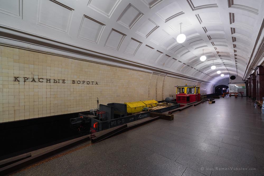 Как ремонтируют Московское Метро