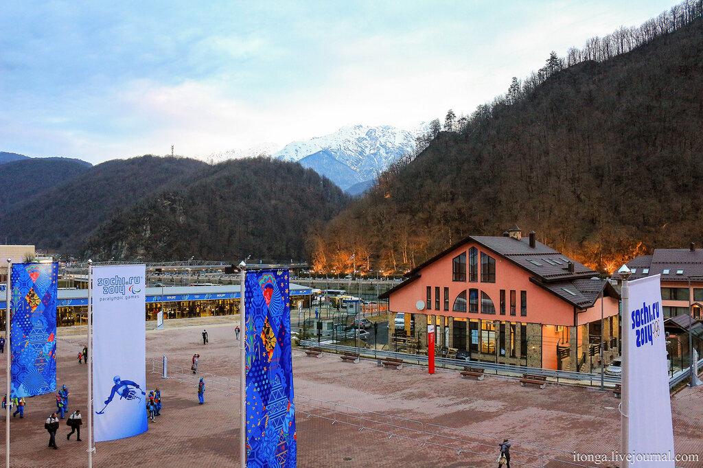 Вокзал на Красной поляне