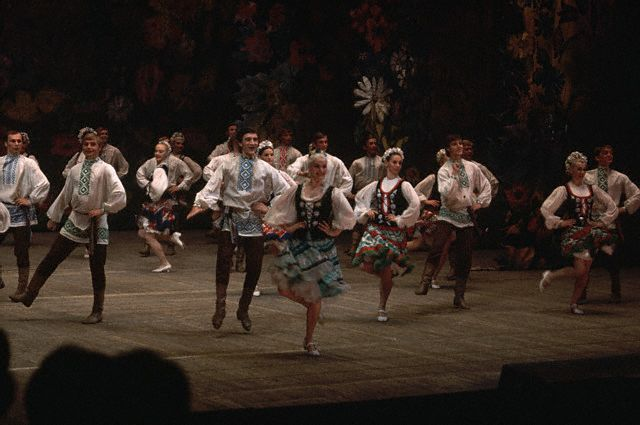 Folk Dancers From Belorussia