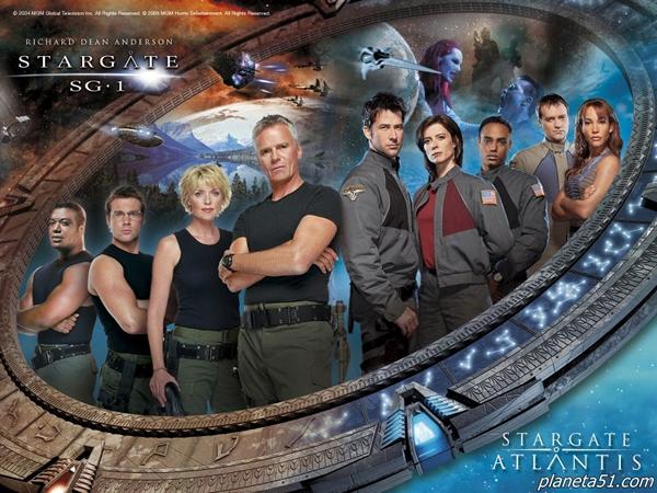 Звездные Врата: Атлантида / Stargate: Atlantis / Сезон 1-5 / Серии 1-100 из 100 (Марио Аззопарди) (2004-2009, Фантастика. DVDRip) (ТВ3) + mvo (К-1) Укр
