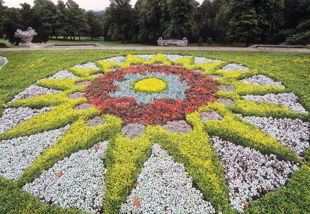 дает эффект геометрические клумбы с цветами фото спасибо