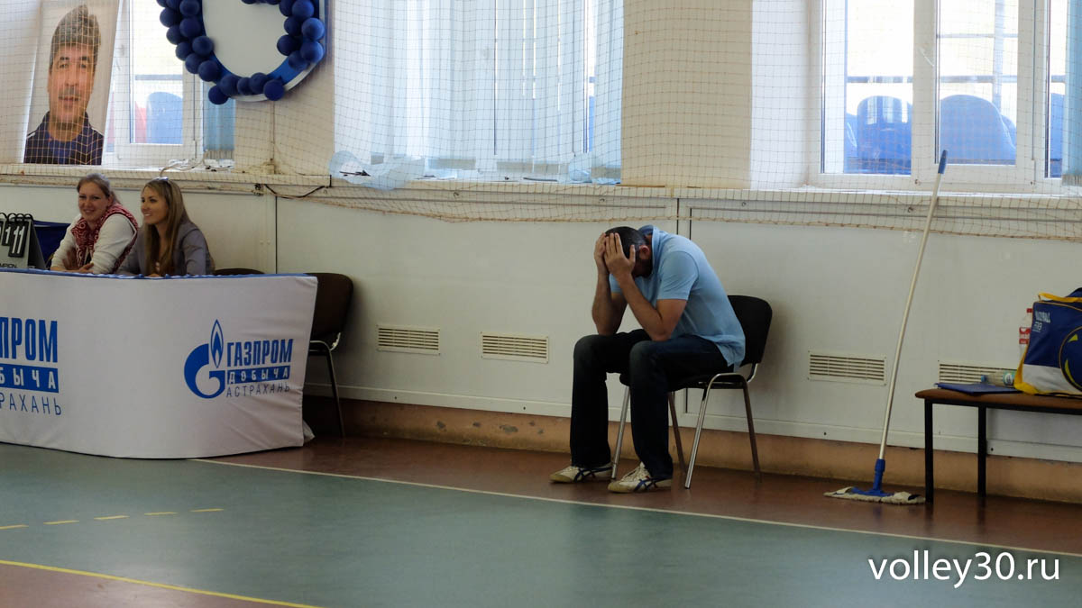 X-го открытого турнира по волейболу «Астраханский факел Газпрома», посвящённый памяти Виталия Пантюхова.